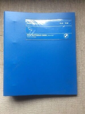 BMW R45 & R65 ORIGINAL 1978 FACTORY WORKSHOP MANUAL ( ENGLISH TEXT )
