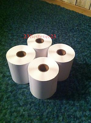 "4 Rolls 4"" x 6"" Zebra Direct Thermal Shipping Printer Labels 250/1000 FREE SHIP on Rummage"