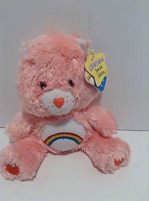 Care Bears Comfy Bear Cheer Bear pink with tags