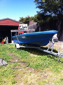15ft fibreglass boat Huonville Huon Valley Preview