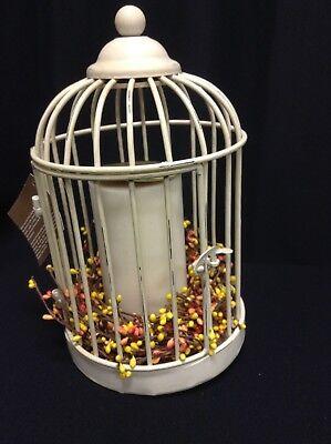 PB Bird Cage House Stake Pillar Candle Holder Outdoor Wedding Garden Patio