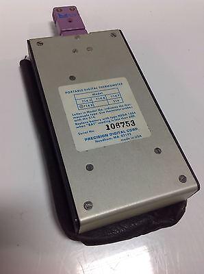 Precision Digital Corp. Portable Digital Thermometer 714e 105522