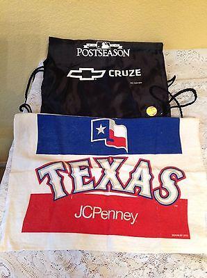 Texas Rangers 2010 Alcs Post Season Mlb Playoffs Bag   Rally Towel Memorabilia