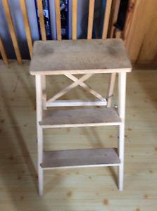 Escabeau en bois de Ikea § Wood little ladder 3 steps