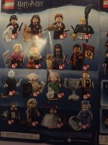Harry Potter and Fantastic Beasts Lego mini figures