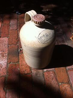 Large industrial ceramic pottery jug ICIANZ Kenwick Gosnells Area Preview