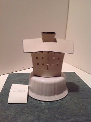 Johnston Fischer 5.5 in Porcelain Tealight House