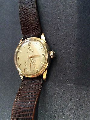 Vintage OMEGA 17J Bumper Automatic Wristwatch Swiss 14k Gold Filled CALIBER 344