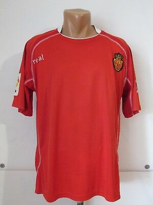 REAL MALLORCA 2009/2010 HOME FOOTBALL SHIRT SOCCER JERSEY CAMISETA SPAIN SIZE L image