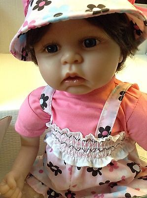 Paradise Galleries Baby Summer Realistic Baby Doll  NIB NEW!