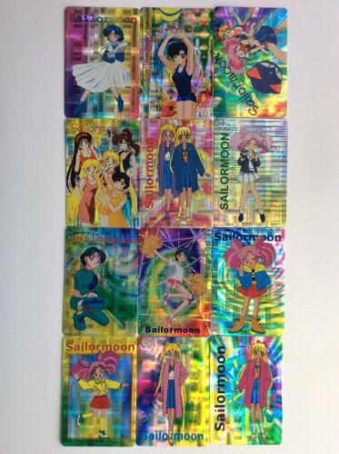 Sailor Moon Prism Venus Mars MercurySticker Card Set of 50 - Anime Animation Lot
