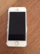Unlocked iPhone 5s silver 16GB Beaumaris Bayside Area Preview