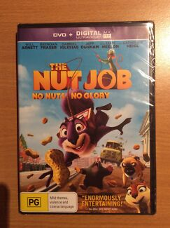 Brand New In Plastic Seal - The Nut Job DVD Ashtonfield Maitland Area Preview
