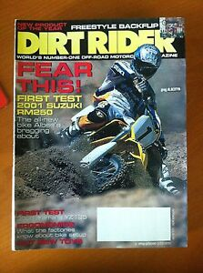 DIRT-RIDER-Meses-1-al-10-ano-2000-months-1-to-10-year-2000