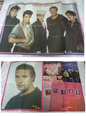 Duran Duran POW poster magazine Simon Le Bon