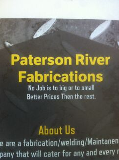 Fabrications/welding/fenceing/maintainence Martins Creek Dungog Area Preview