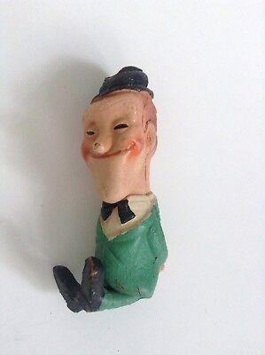 Tres ancienne figurine pouet Laurel et Hardy moyen état