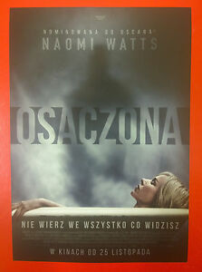 Naomi Watts Jacob Tremblay - Shut In - Polish promo FLYER - <span itemprop=availableAtOrFrom>Gdynia, Polska</span> - Naomi Watts Jacob Tremblay - Shut In - Polish promo FLYER - Gdynia, Polska