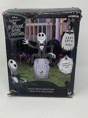 JACK SKELLINGTON Disney Nightmare Before Christmas Inflatable Outdoor Halloween