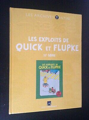 Archives Tintin Exploits Quick et Flupke 11e Hergé NEUF sous cello jamais ouvert