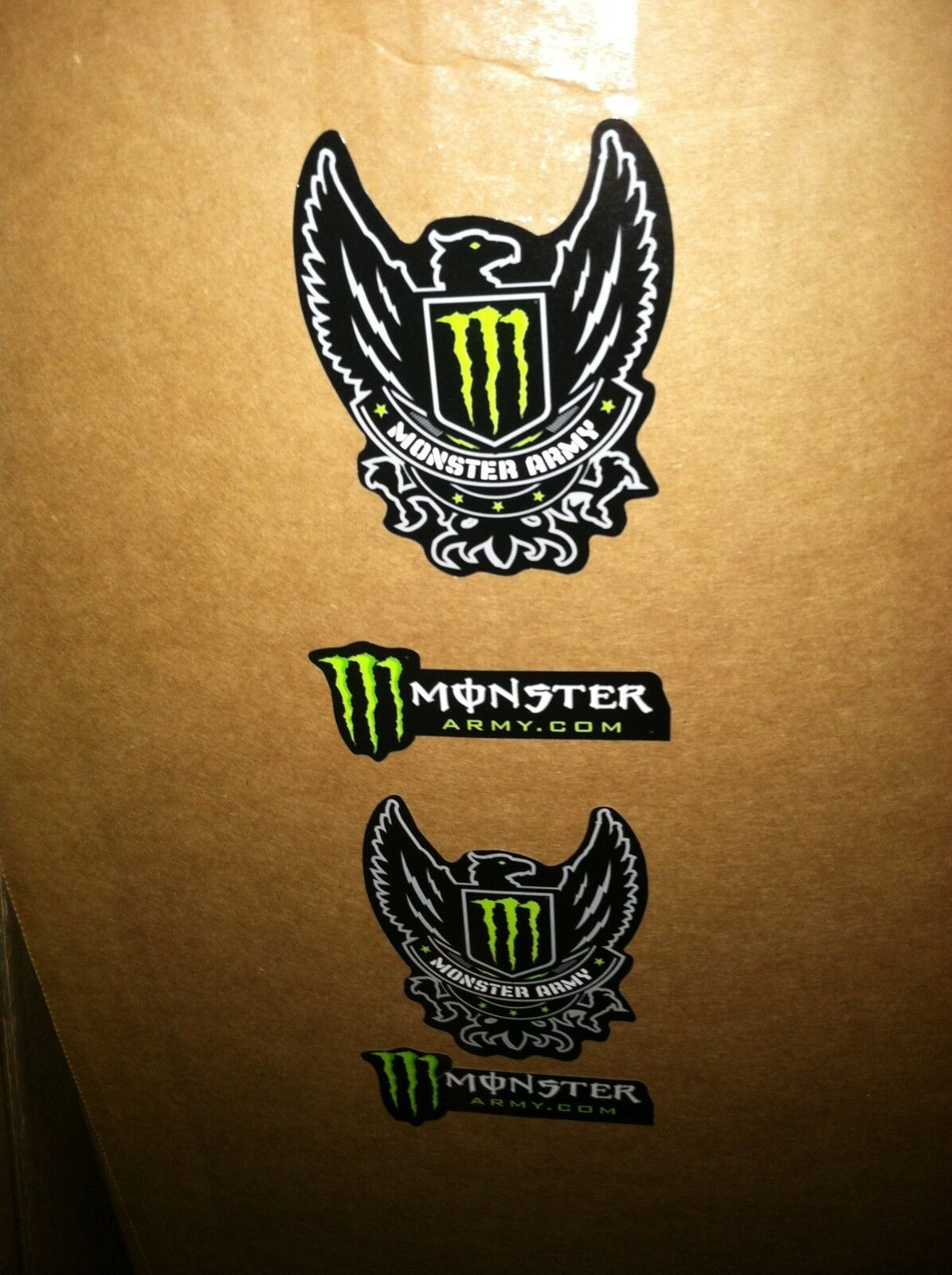 10 each decals nitro monster army monster dakine fox 10. Black Bedroom Furniture Sets. Home Design Ideas