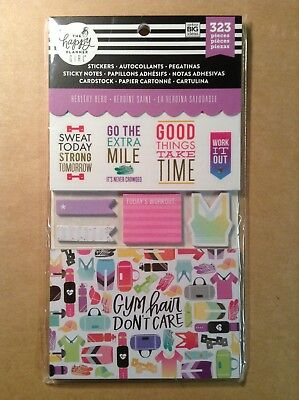 Me My Big Ideas The Happy Planner Planner Girl Healthy Hero Accessory Pack