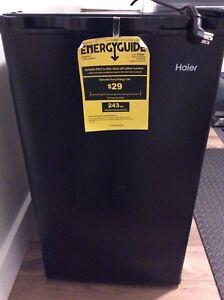 Haier 3.2 cubic feet mini fridge