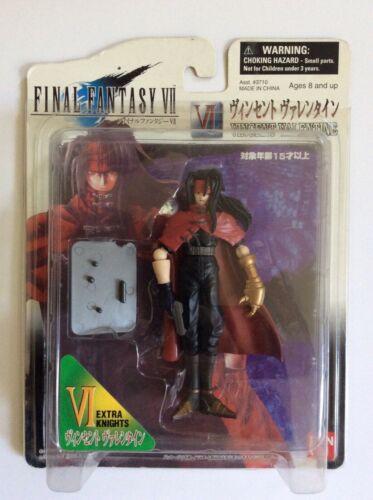Play Arts Final Fantasy VII Advent Children Vincent Valentine Figure 2007 NISB