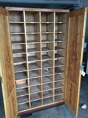 Bücherschrank Archivschrank Lagerschrank Sammlerschrank Holzschrank 100x41x187cm