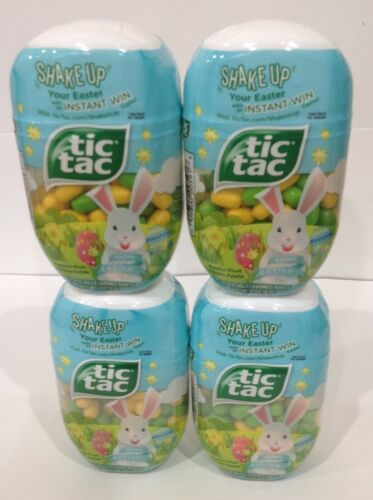 Tic Tac SHAKE UP EASTER Green Apple & Passion fruit 2.9oz (Pack of 4) BB 03/2022