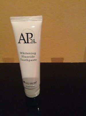 Nu Skin Whitening Fluoride Toothpaste Ap24 New  Exp 11 2019 Reduce 1 Month