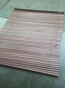 2 Great real wood blinds