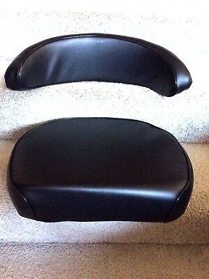 Minnie Moline M-5-602 Jet Star Tractor Seat Cushion And Backrest Replacement