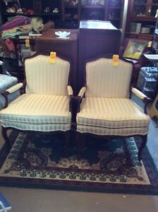 Victorian style chairs