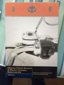 Harley Davidson Chrome clutch & master cyl kit. $275