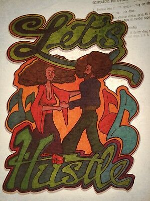 70s Hustle Flow Dance Black R&B Soul Train Jazz Funk Disco VTG T-Shirt Iron On](70s Disco Dances)