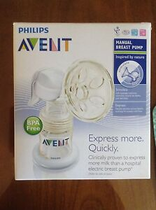 Avent manual breast pump Berowra Heights Hornsby Area Preview