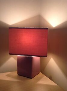 Purple table lamp Glenelg East Holdfast Bay Preview