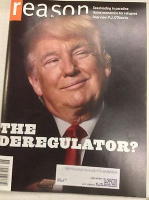 Reason Magazine Donald Trump The Deregulator June 2017 060117nonr