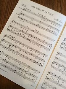 Sheet Music: All Hail The Queen London Ontario image 2
