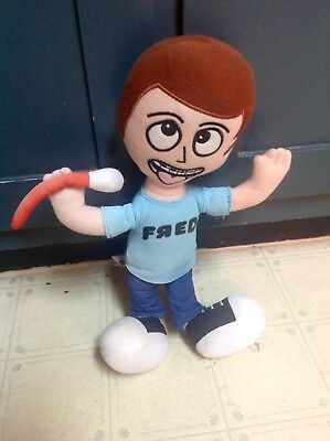 """FRED Talking Singing Sing Microphone Mic iCarly Plush 13"""" Toy *RARE*, used for sale  Stanford"""