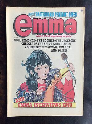 EMMA COMIC.  11 MARCH 1978.  NO. 4.  VFN+ CONDITION. (1
