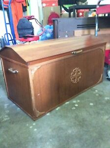 Solid Wood Hope Chest / Blanket Box