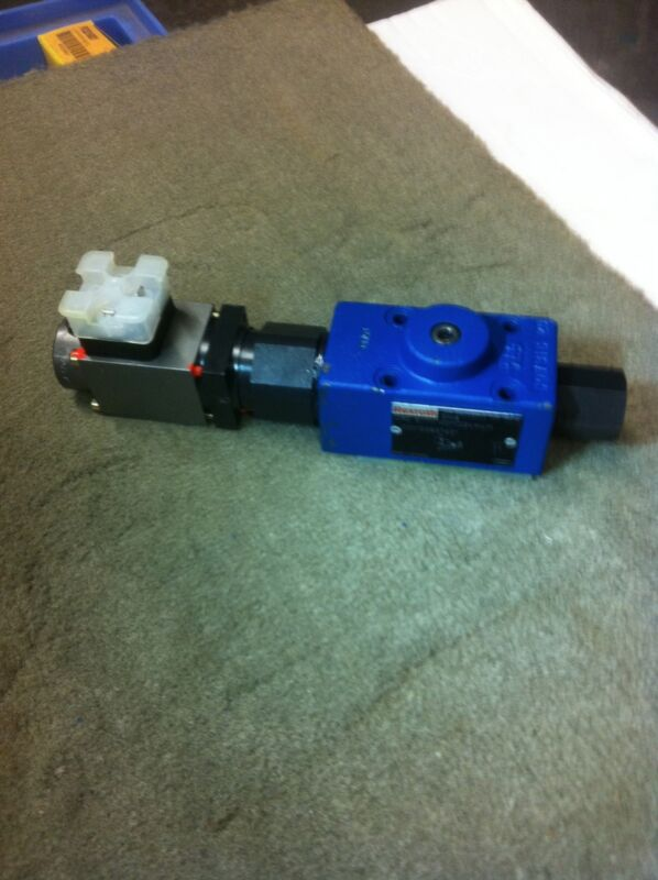 REXROTH DRE6-11/100MG24K4M HYDRAULIC PRESSURE REDUCING VALVE NEW R900932943