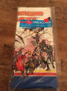 Vintage table cover Battlestar Galactica 1978