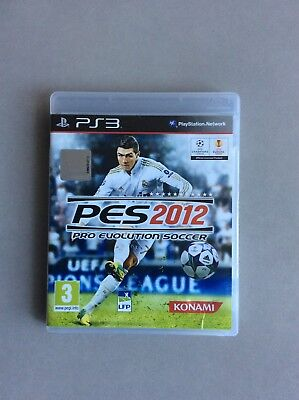 Jeux video PS3 Pro Soccer console Sony Playstation 3 PES 2012 Sports football