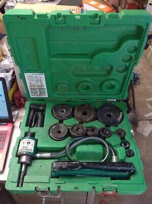 Nice Greenlee 7310sb -4 Hydraulic Slugbuster Knockout 767 Pump 746 Ram 7237