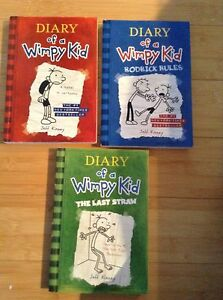 Diary of a whimpy kid Jeff Kinney last straw novel rodrick rules