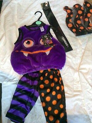 BNWT SAINSBURY'S TU SCARY SPIDER CHILD/BABY FANCY DRESS HALLOWEEN COSTUME