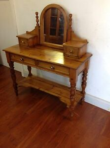 Baltic Pine Dressing Table Mulgrave Monash Area Preview